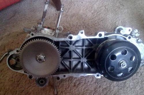 Трансмиссия (ремень, ролики, сцепление) Honda DIO ZX