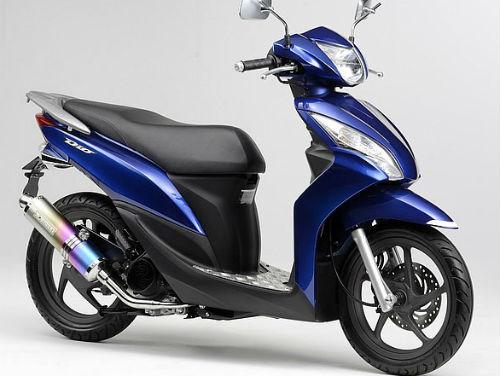 Обзор скутера Honda Dio 110