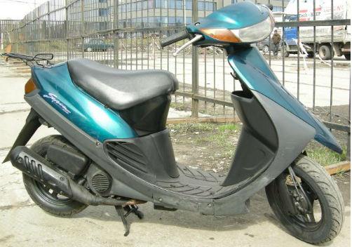 Скутер Suzuki SEPIA аутсайдер среди скутеров