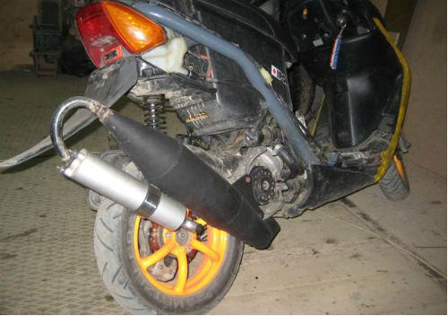 Задний-диск-Honda-ZX-своими-руками